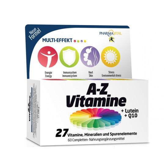 Multivitamin A-Z-Vitamini in minerali
