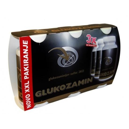 XXL PAKIRANJE  3 x 60 kapsul GLUKOZAMIN-Prehranska dopolnila
