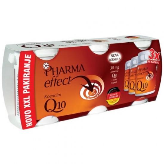 XXL PAKIRANJE  3 x 60 kapsul PHARMA EFFECT Q10-POSEBNA PONUDBA