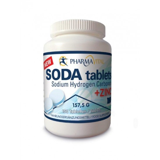 Soda bikarbona-Vitamini in minerali